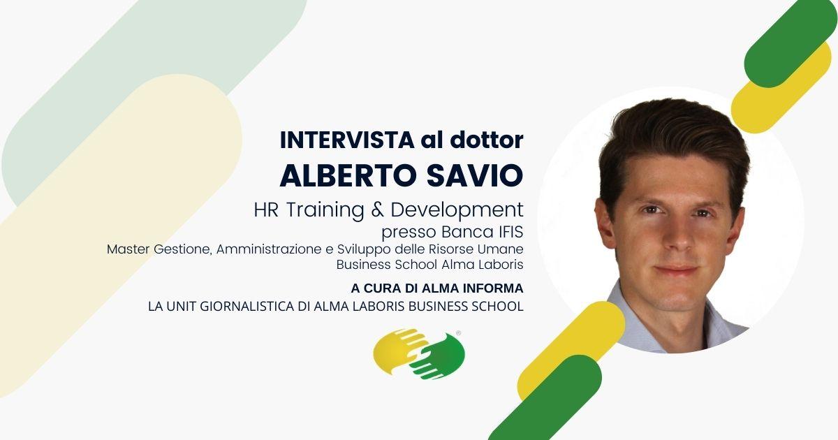 """Opinioni Master Risorse Umane, il dottor Alberto Savio: """"Efficace per farmi comprendere il mondo HR"""""""