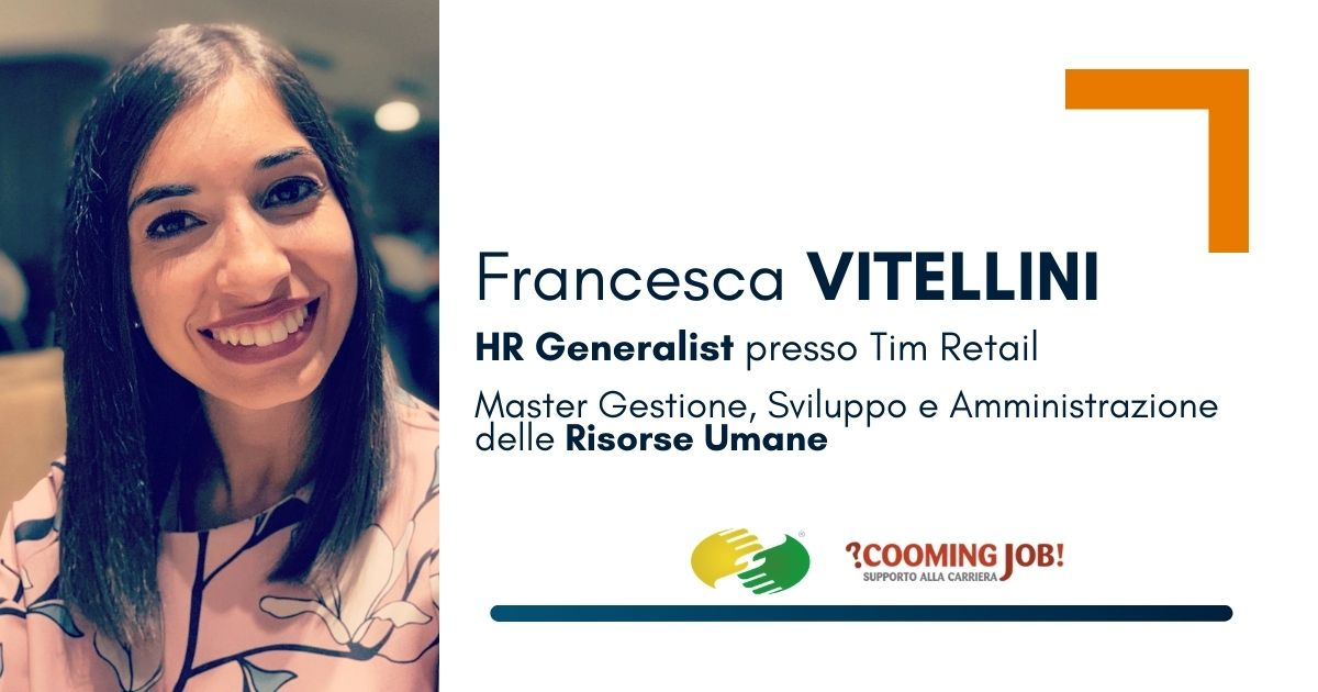 """Master Risorse Umane, la dottoressa Francesca Vitellini: """"Mi ha permesso di raggiungere i miei obiettivi"""""""