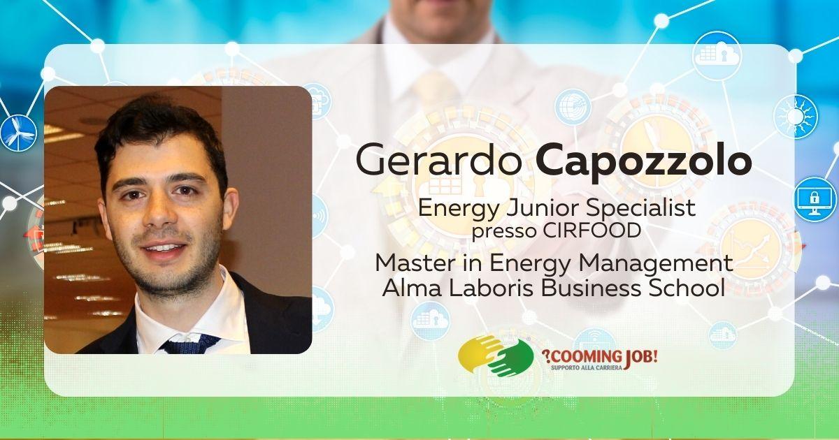 """Energy Management, l'ingegner Capozzolo: """"Il Master ha indirizzato la mia assunzione"""""""