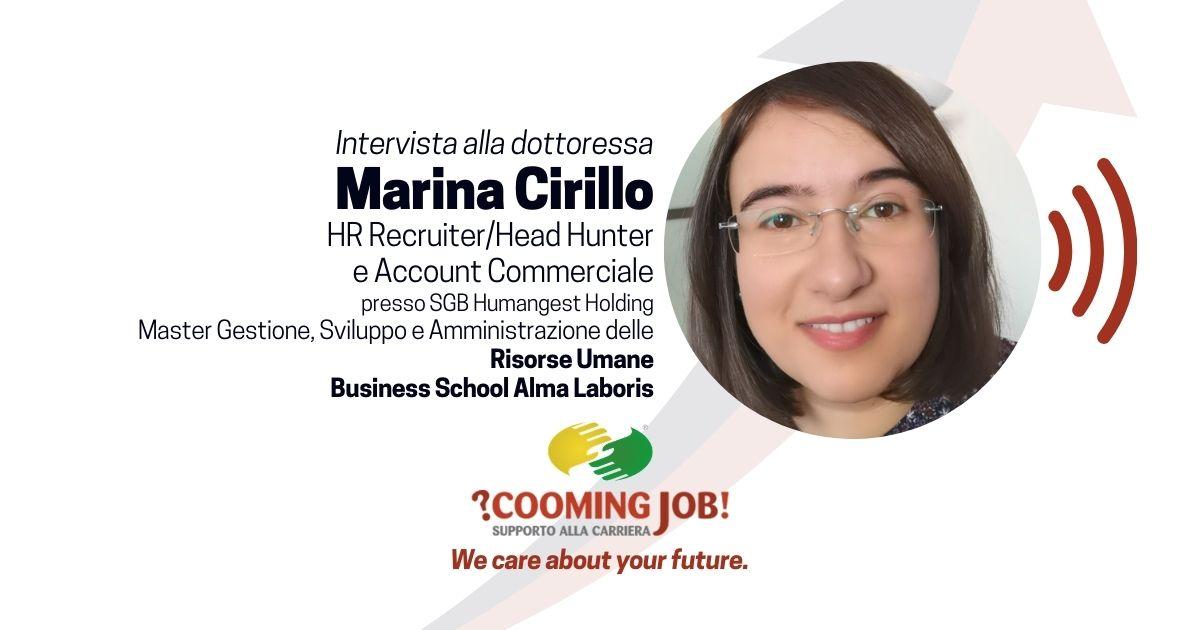 """Opinioni Master Risorse Umane, la dottoressa Marina Cirillo: """"Formazione completa, percorso importante"""""""