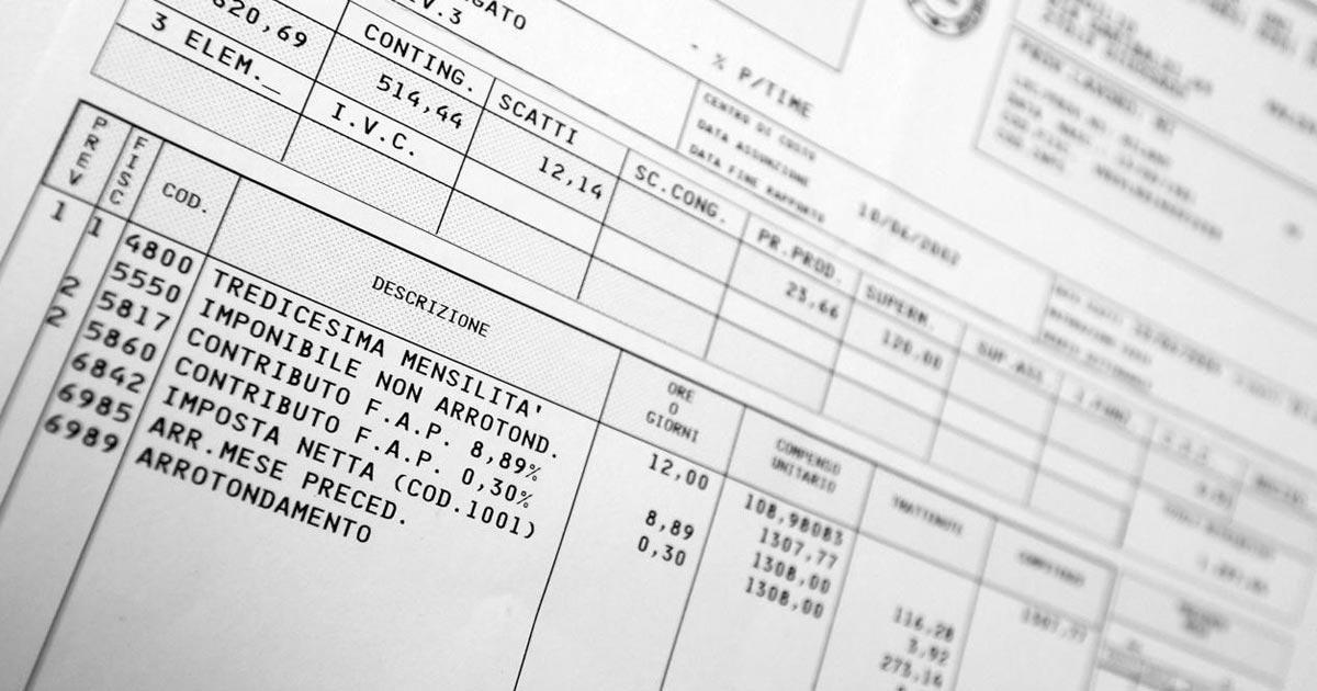 Busta paga: vale come prova del pagamento dello stipendio?
