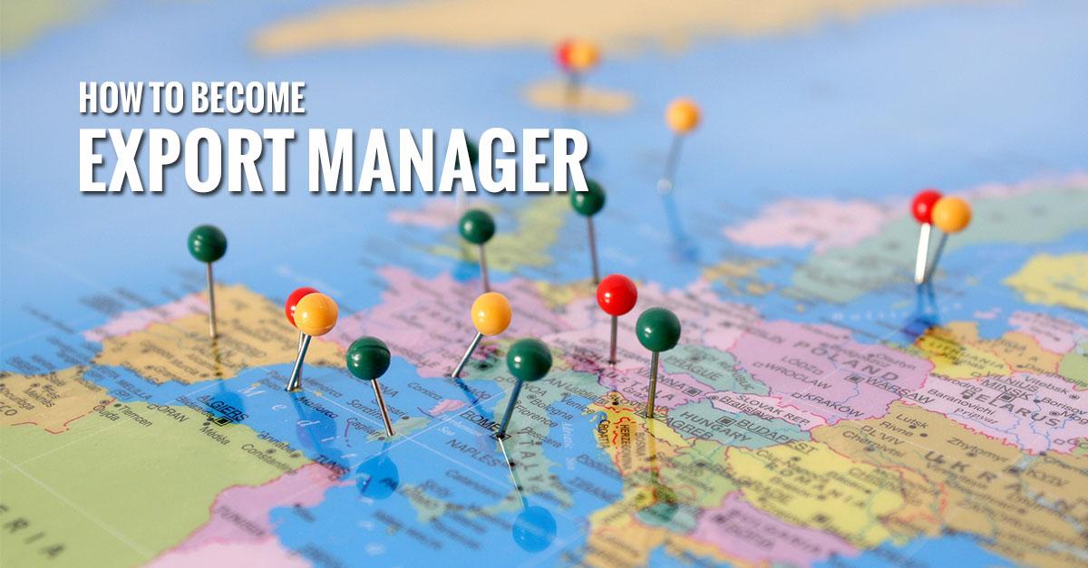 L'Export Manager uno dei profili più ricercati