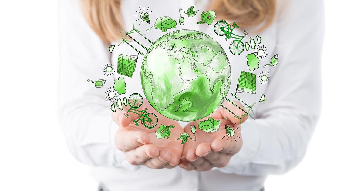 Con l'economia circolare è possibile ridurre le emissioni di CO2 di oltre la metà entro il 2050