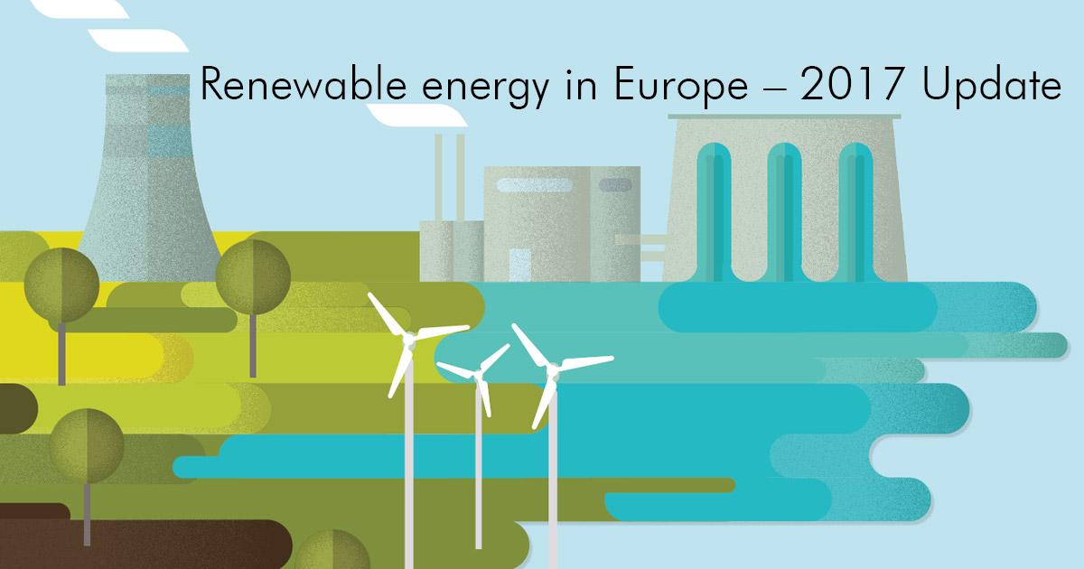 Continua la transizione verso l'energia rinnovabile in Europa