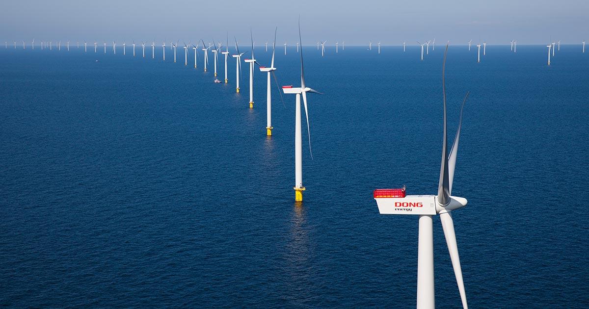 Eolico offshore: costa meno dell'energia delle nuove centrali nucleari