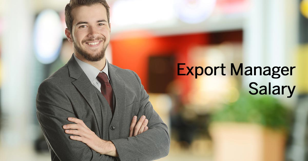 Export Manager Stipendio Italia 2018