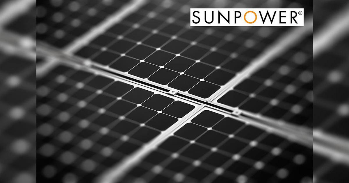 SunPower rafforza le garanzie sui pannelli fotovoltaici, combinando un prodotto efficiente e potenza