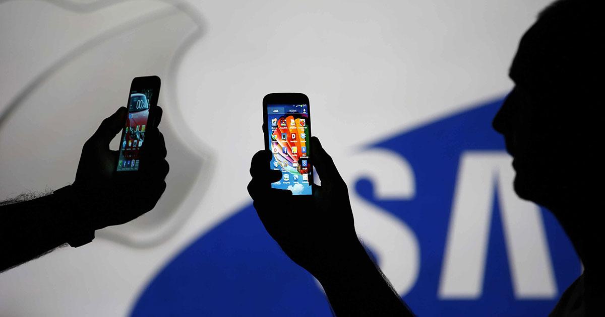 Samsung, risarcimento salatissimo a Apple: 539 milioni di dollari