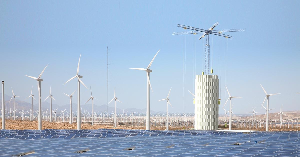 Tecniche di accumulo energetico: arriva la torre a gravità di Energy Vault