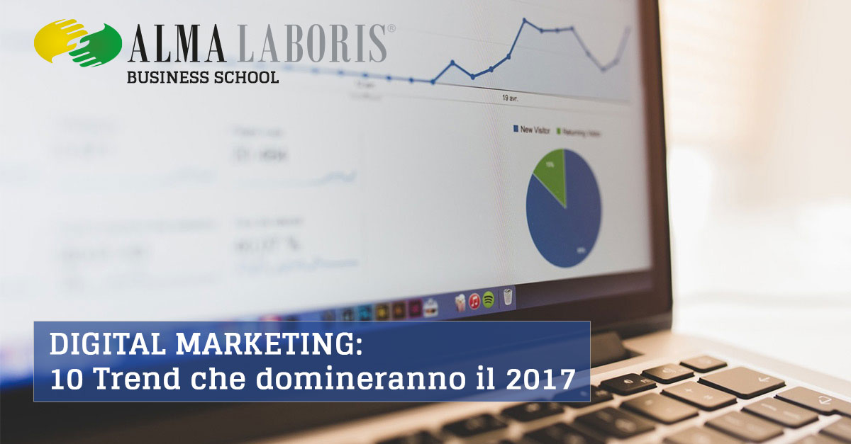Digital Marketing, 10 trend che domineranno il 2017