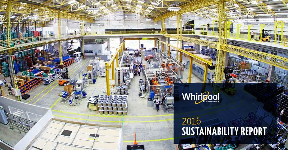 Whirlpool, il report di sostenibilità: Rifiuti Zero entro il 2022