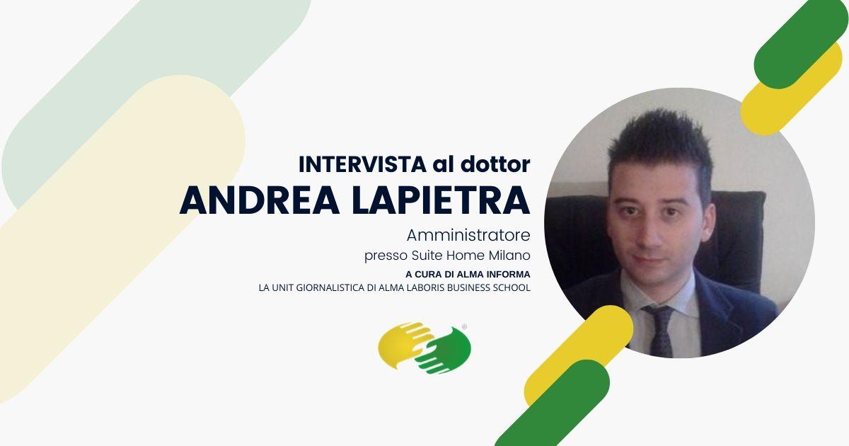 """Il dottor Andrea Lapietra: """"Alma Laboris si inserisce nel vuoto tra università e mondo del lavoro"""""""