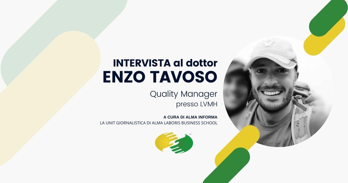 "L'ingegner Enzo Tavoso: ""Ecco cosa ho appreso nel Master"""