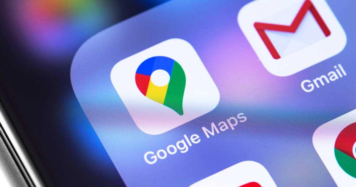 Buon compleanno Google Maps