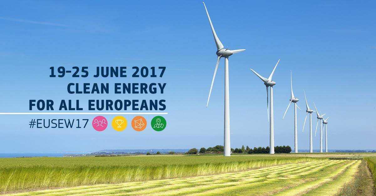 EUSEW 2017, a giugno la Settimana Europea per l'energia sostenibile