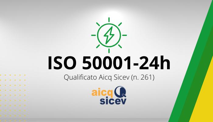 Corso Auditor Sistema Gestione dell'Energia  24H - ISO 50001