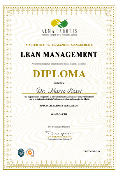 project manager diploma