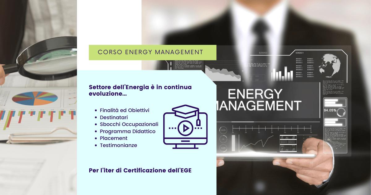 Corso Energy Management