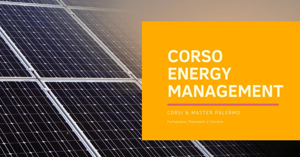 Corso Energy Management Palermo
