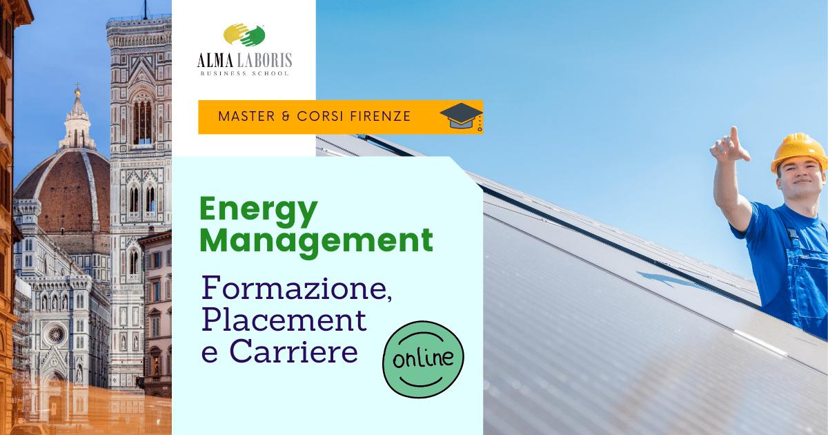 Master Energy Management Firenze