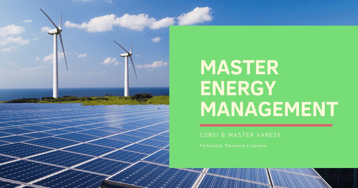Master Energy Management Varese