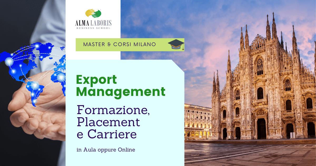 Corso Export Management Milano