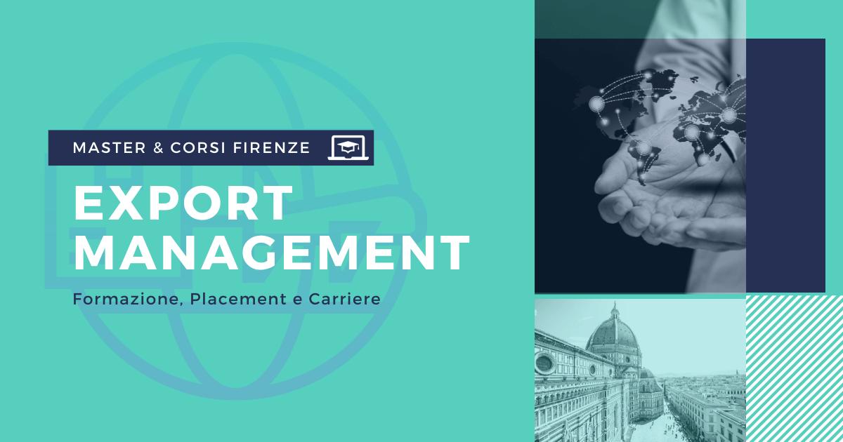 Master Export Management Firenze
