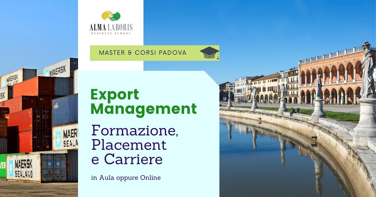 Corso Export Manager Padova