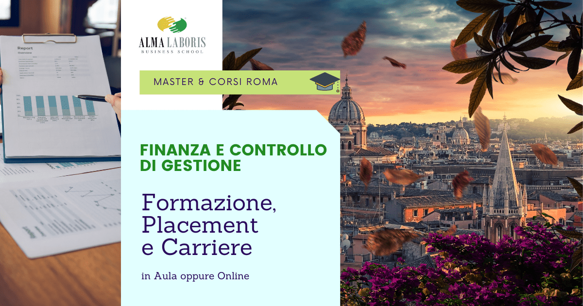 Corso Finanza e Controllo di Gestione Roma