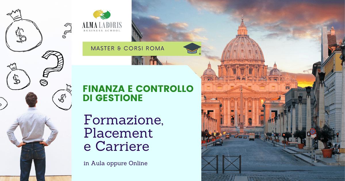 Corso Finanza e Controllo di Gestione Roma: i migliori Master