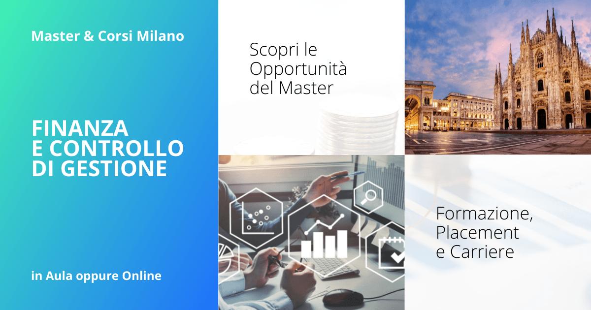 Master Finanza e Controllo di Gestione Milano