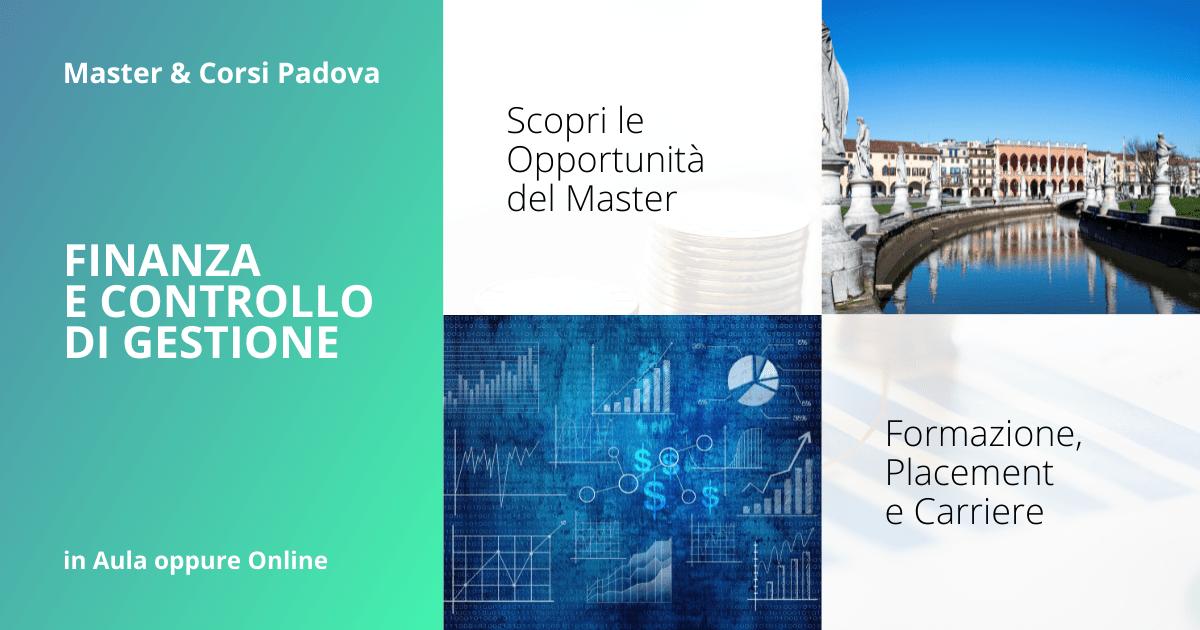 Master Finanza e Controllo di Gestione Padova