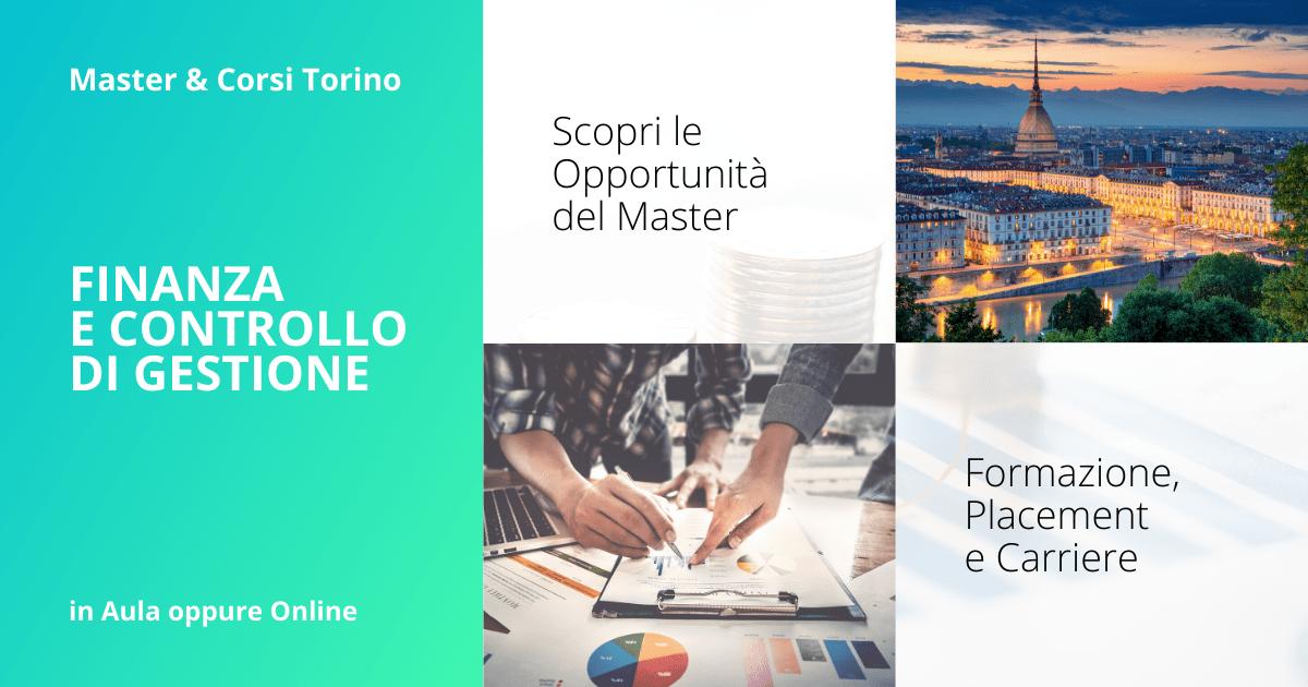 Master Finanza e Controllo di Gestione Torino