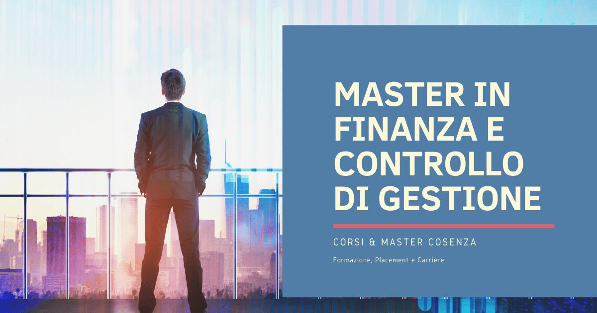 Master in Finanza Cosenza