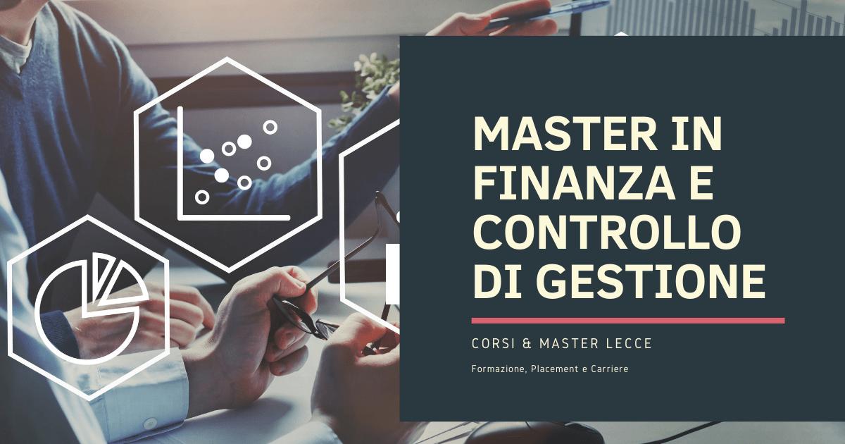Master in Finanza Lecce