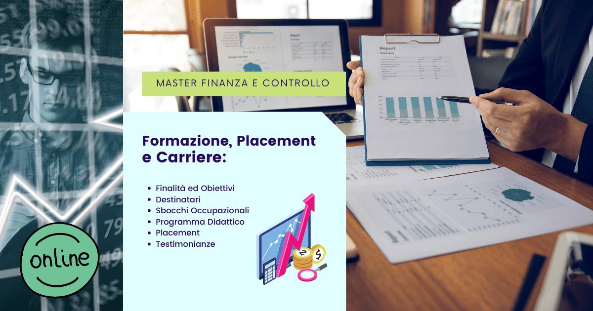 Master Finanza e Analisi di Bilancio Online