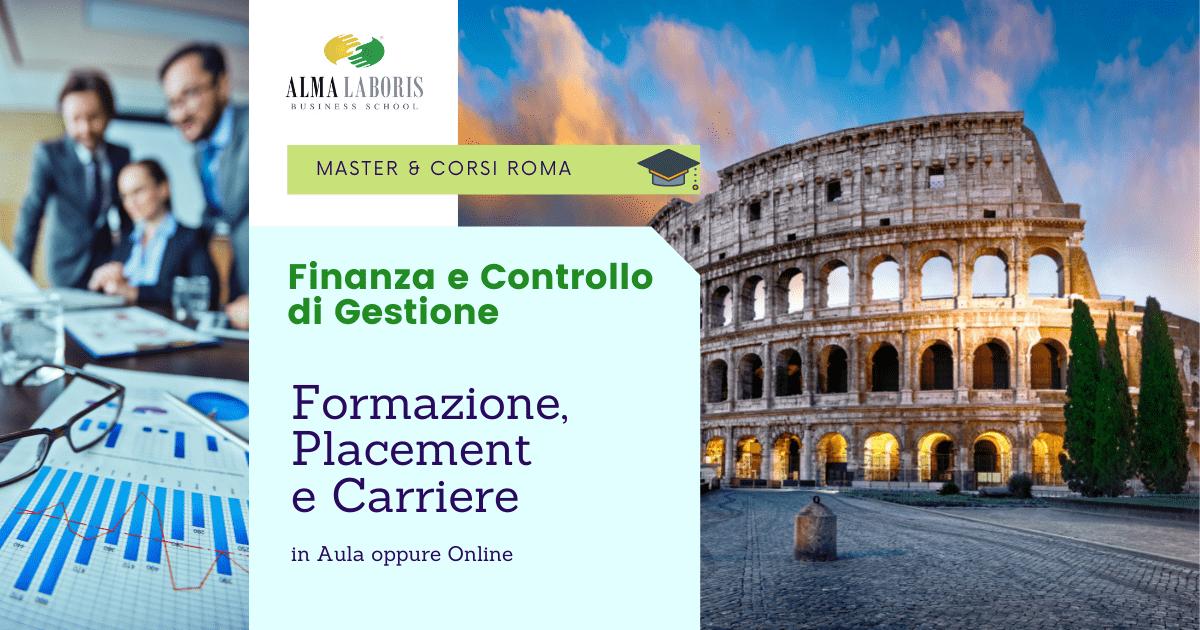 Master Finanza e Controllo di Gestione Roma