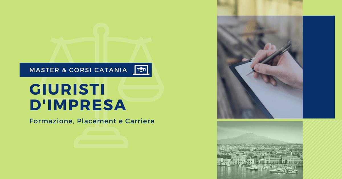 Master Giuristi d'Impresa Catania