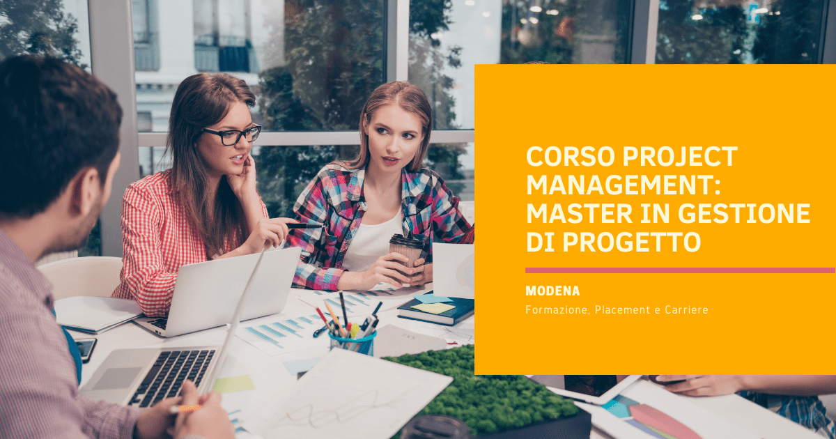 Corso Project Management Modena