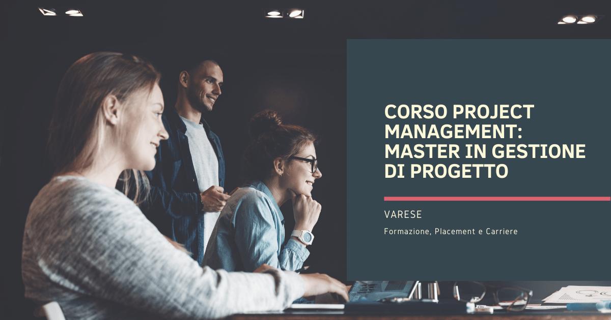 Corso Project Management Varese