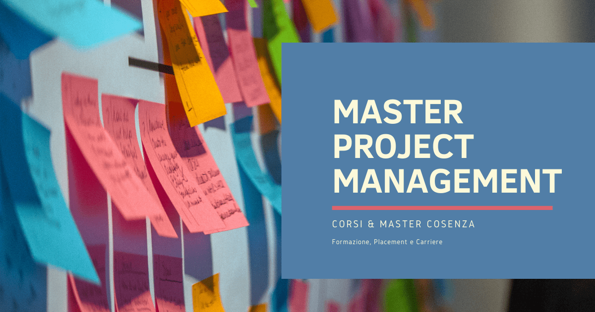 Master Project Management Cosenza: quale frequentare?