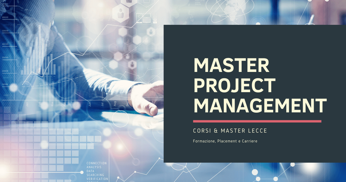 Master Project Management Lecce