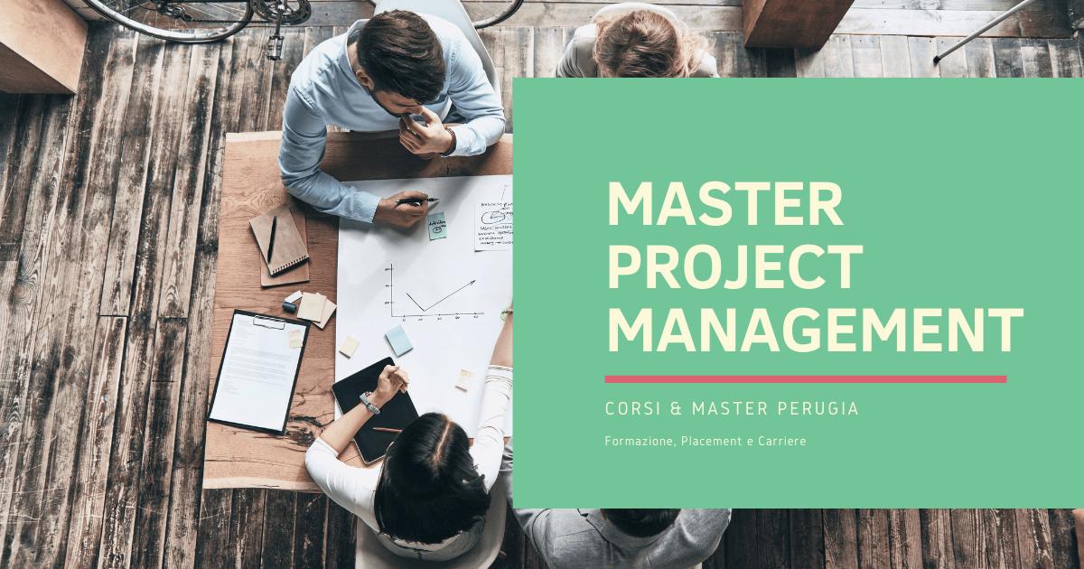 Master Project Management Perugia