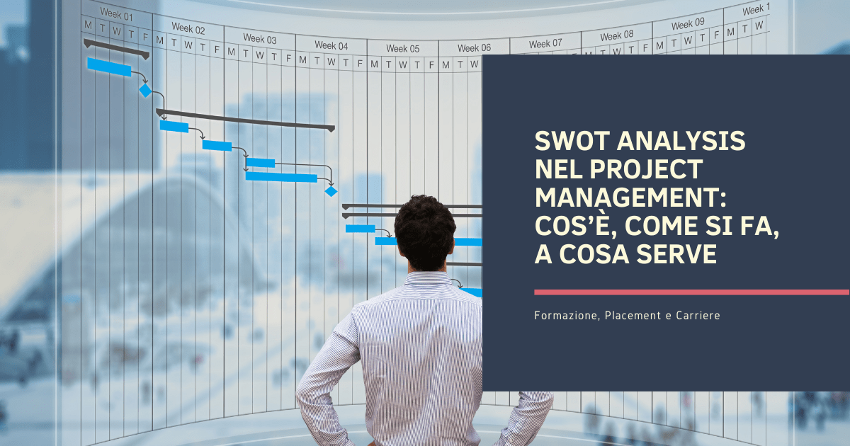 SWOT Analysis nel project management