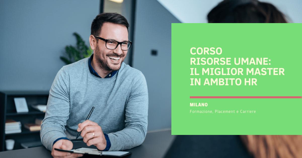 Corso Risorse Umane Milano