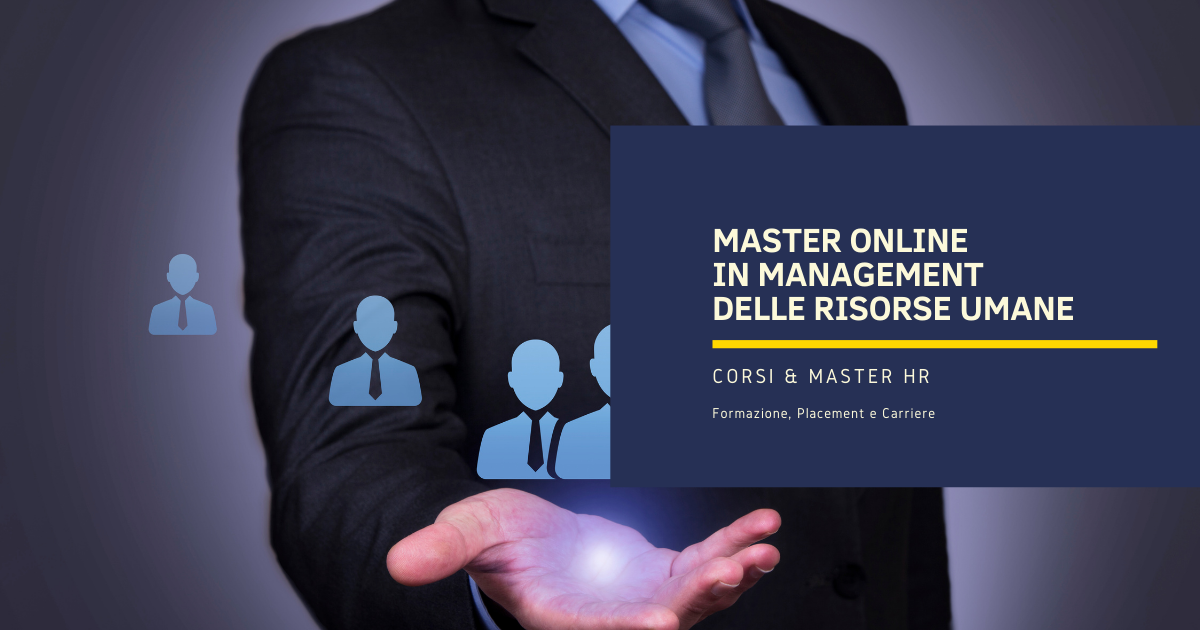 Master Online in Management delle Risorse