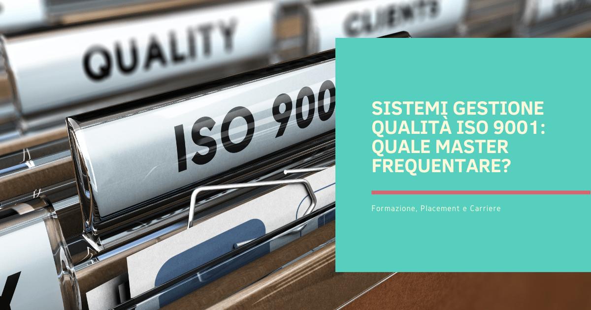 Sistemi gestione qualità ISO 9001