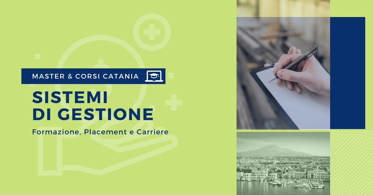 Master Sistemi di Gestione Catania