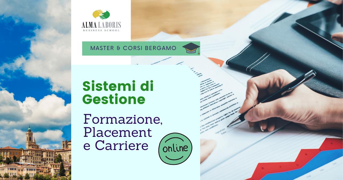 Master Sistemi di Gestione Bergamo