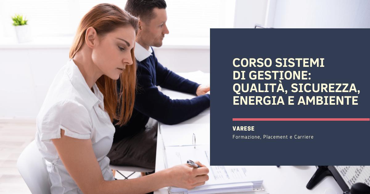 Corso Sistemi di Gestione Varese